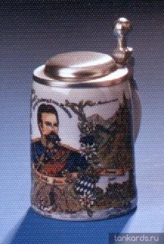Кружка сувенирная с изображением Короля Людвига