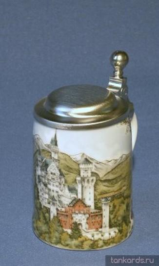 Кружка сувенирная с изображением замка Нойшванштайн (Neuschwanstein Castle)