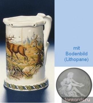 кувшин Гауди с изображением оленя