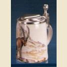 Сувенирная кружечка с изображением козерога