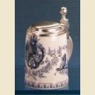 Сувенирная кружка с гербом и крышкой