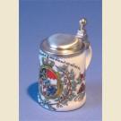 Пивная кружка подарочная, сувенирная с гербом Баварии