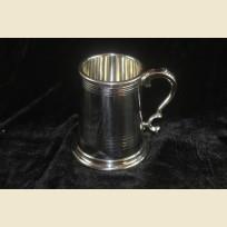 Пивная кружка пинтовая из олова Вустерского дизайна