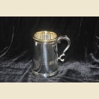 Уникальная оловянная кружка для пива из Англии