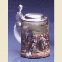 Кружка миниатюрная с изображением сцены свадьбы