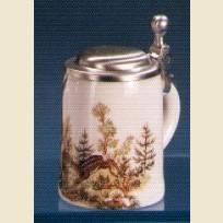 Подарочная пивная кружка - сувенир с изображением оленя