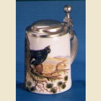 Кружка малютка сувенирная, подарочная с изображением индейки