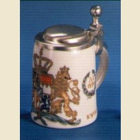 Кружка сувенирная Бавария, цветной герб 1794 года