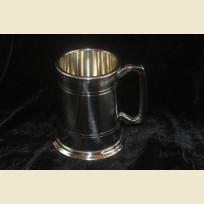 Превосходная оловянная пивная кружка из олова