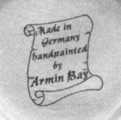 Маркировка Armin Bay произведенная в Китае