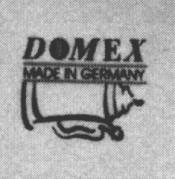 Маркировка Domex произведенная в Китае